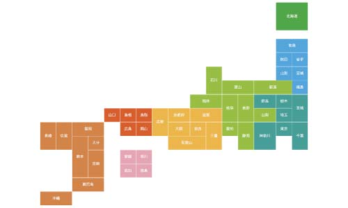 全国施工対応 イメージ