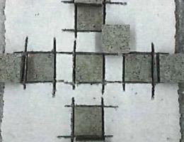 コンクリート板試験体 破断状況