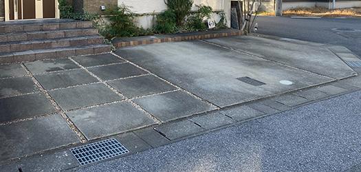 コンクリートへの施工のイメージ② - 施工前