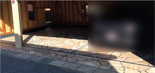 防水塗装への施工のイメージ④ - 施工後