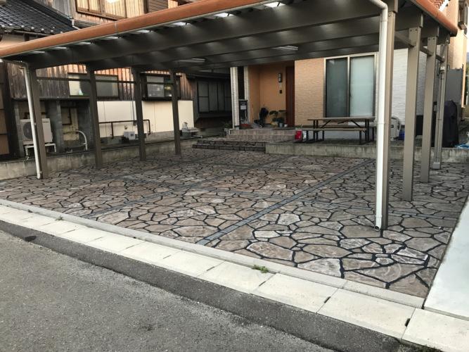 ローラーストーン認定施工店 施工事例写真(大):0000672