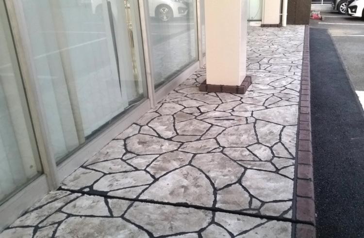 ローラーストーン認定施工店 施工事例写真(大):0000693