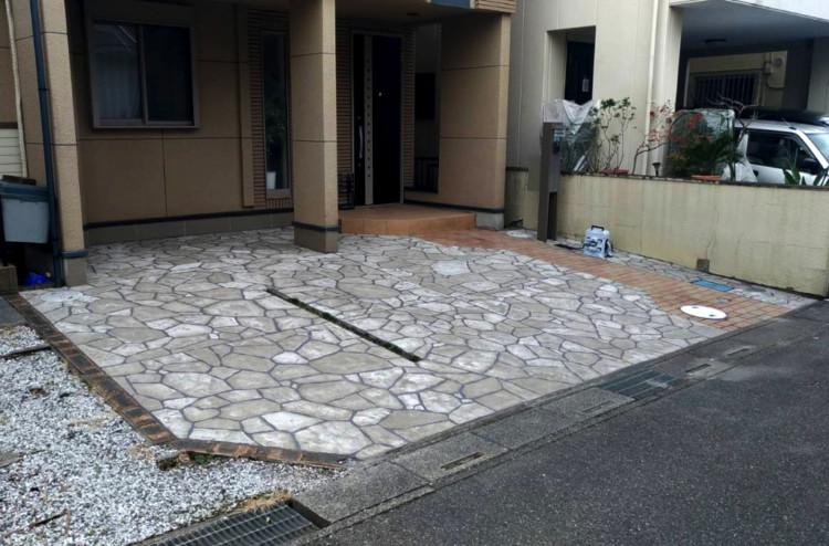 ローラーストーン認定施工店 施工事例写真(大):0001175