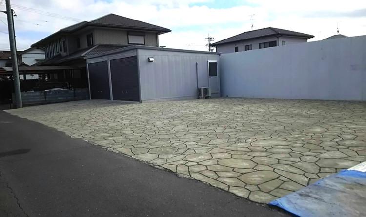 ローラーストーン認定施工店 施工事例写真(大):0001192