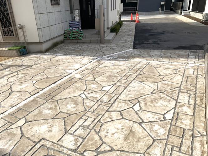ローラーストーン認定施工店 施工事例写真(大):0001271