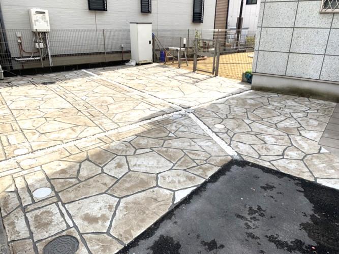 ローラーストーン認定施工店 施工事例写真(大):0001272