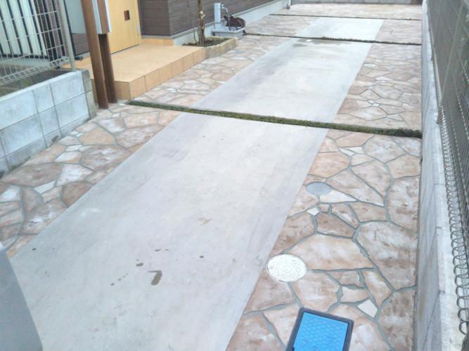 ローラーストーン認定施工店 施工事例写真(大):0001266