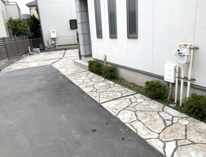ローラーストーン認定施工店 施工事例写真(大):0001273