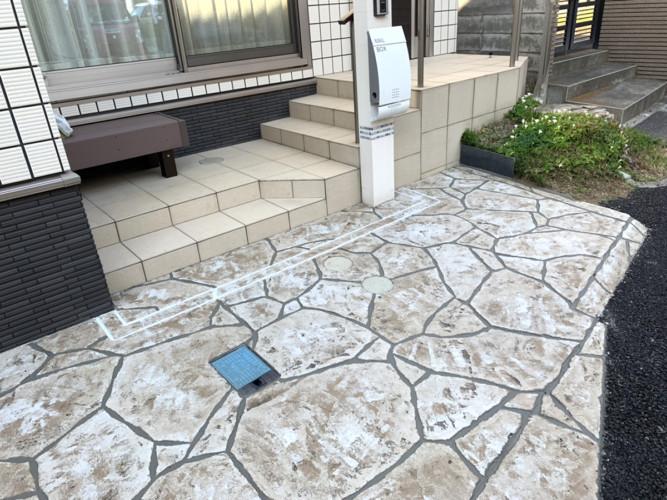 ローラーストーン認定施工店 施工事例写真(大):0001379