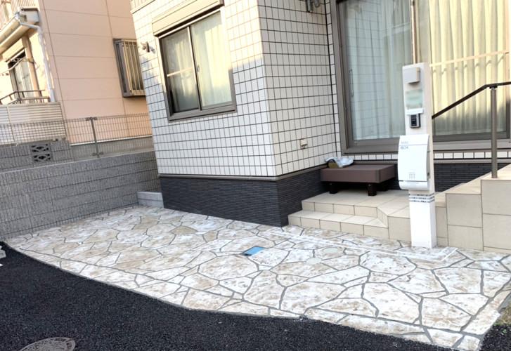 ローラーストーン認定施工店 施工事例写真(大):0001380
