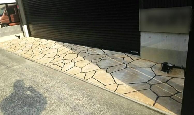 ローラーストーン認定施工店 施工事例写真(大):0001348