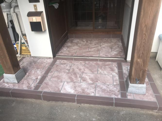 ローラーストーン認定施工店 施工事例写真(大):0001412