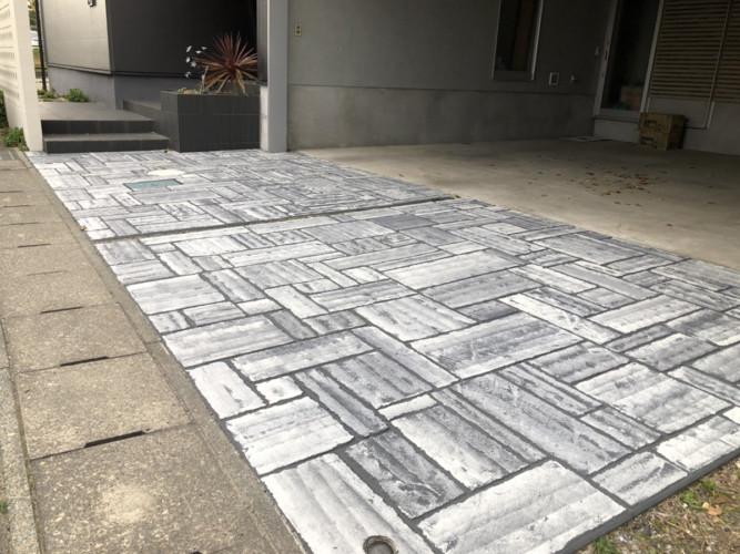ローラーストーン認定施工店 施工事例写真(大):0001416