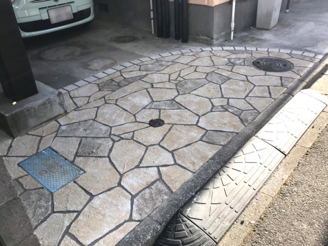 ローラーストーン認定施工店 施工事例写真(大):0001411
