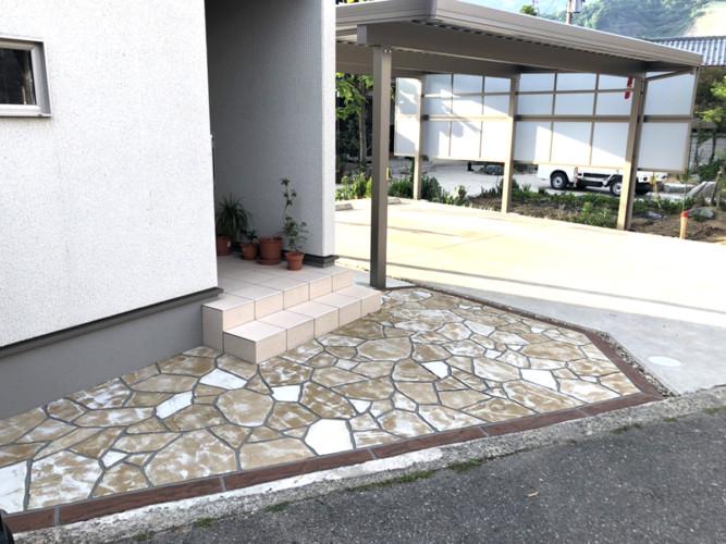 ローラーストーン認定施工店 施工事例写真(大):0001496