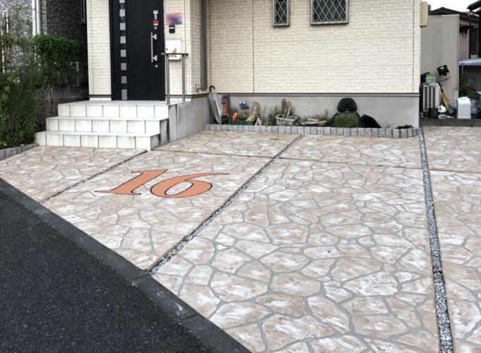 ローラーストーン認定施工店 施工事例写真(大):0001717