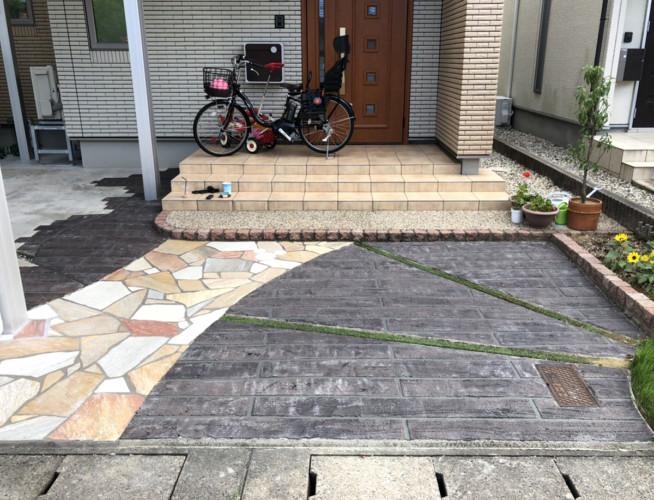 ローラーストーン認定施工店 施工事例写真(大):0001814