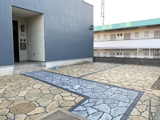 ローラーストーン認定施工店 施工事例写真(大):0001994