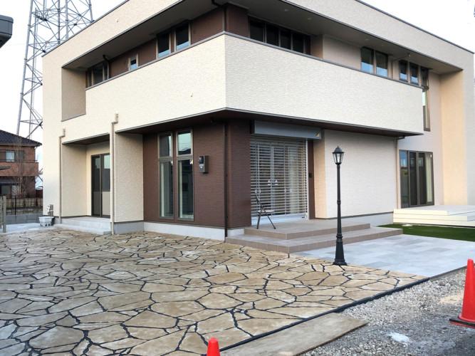 ローラーストーン認定施工店 施工事例写真(大):0002247