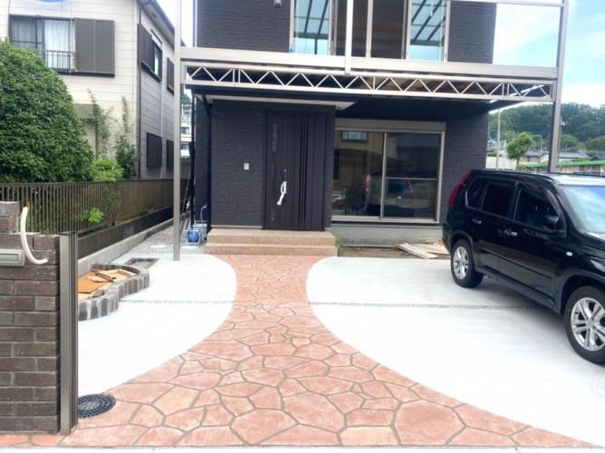ローラーストーン認定施工店 施工事例写真(大):0002616