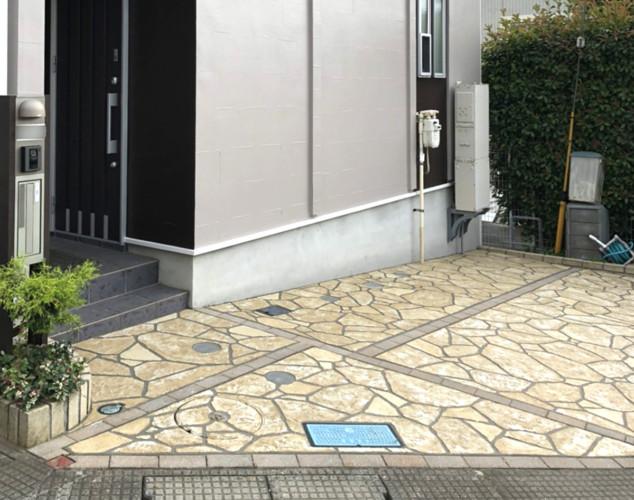 ローラーストーン認定施工店 施工事例写真(大):0002606