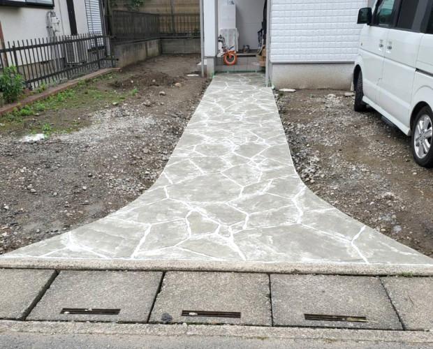 ローラーストーン認定施工店 施工事例写真(大):0002614