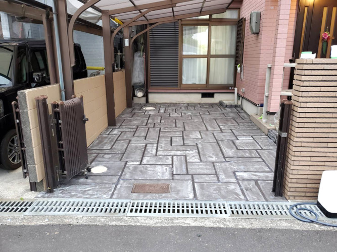 ローラーストーン認定施工店 施工事例写真(大):0002619