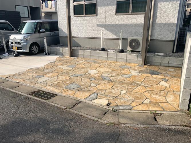 ローラーストーン認定施工店 施工事例写真(大):0002631