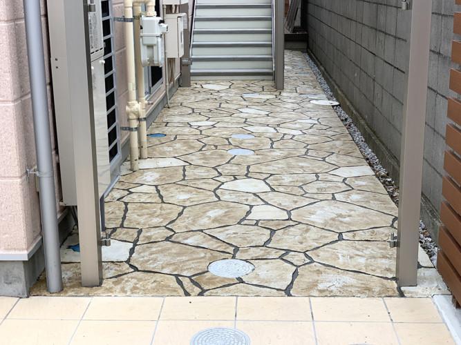ローラーストーン認定施工店 施工事例写真(大):0002549
