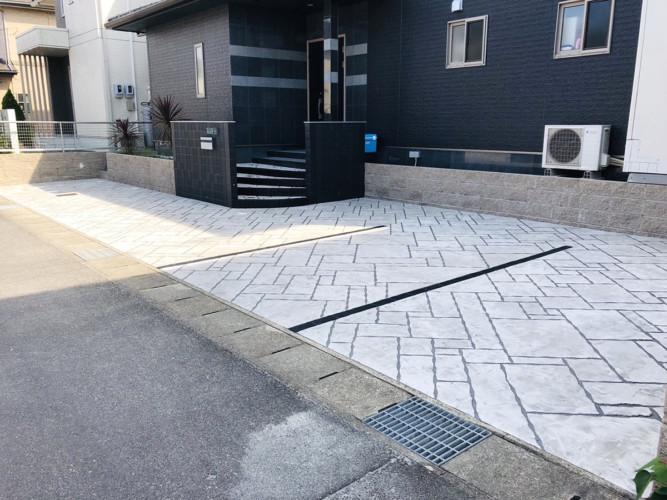 ローラーストーン認定施工店 施工事例写真(大):0002843