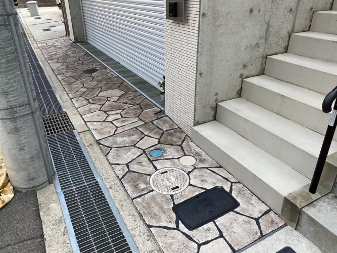 ローラーストーン認定施工店 施工事例写真(大):0002906