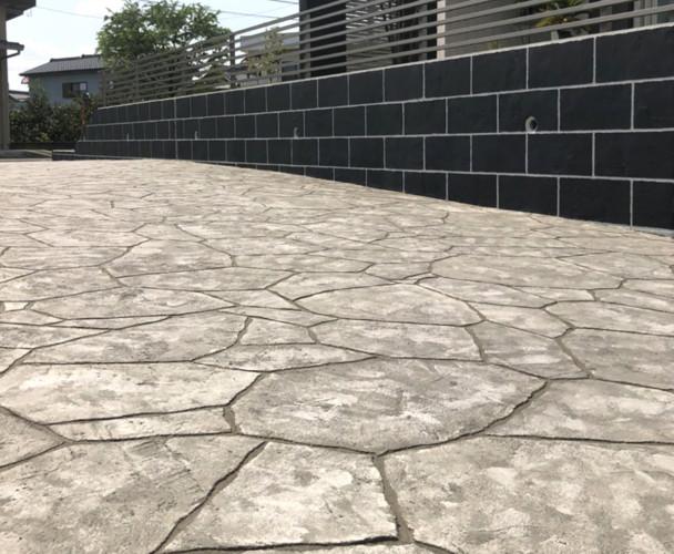 ローラーストーン認定施工店 施工事例写真(大):0002900