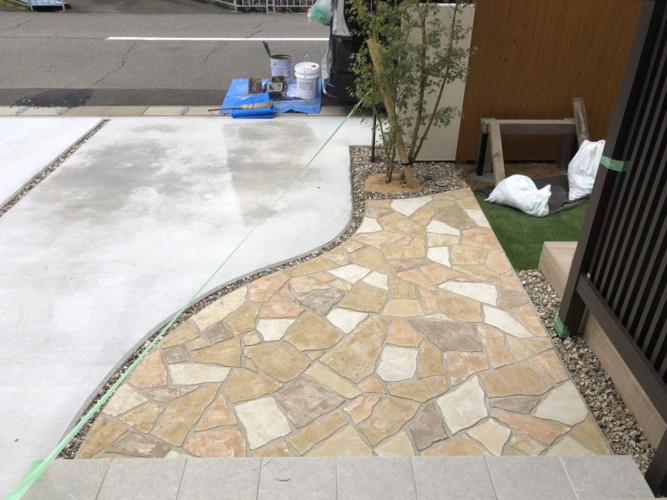 ローラーストーン認定施工店 施工事例写真(大):0003008