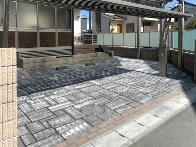ローラーストーン認定施工店 施工事例写真(大):0003320