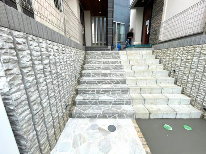 ローラーストーン認定施工店 施工事例写真(大):0003481