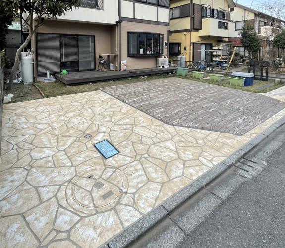 ローラーストーン認定施工店 施工事例写真(大):0003475