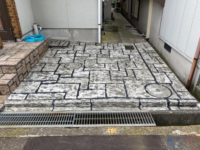 ローラーストーン認定施工店 施工事例写真(大):0003806