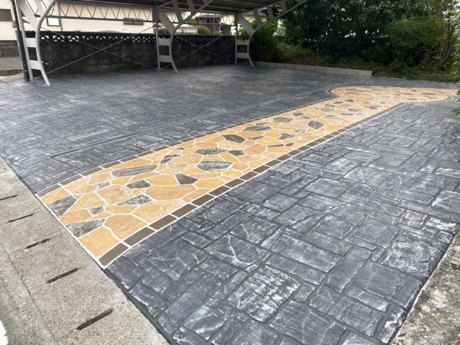 ローラーストーン認定施工店 施工事例写真(大):0003981