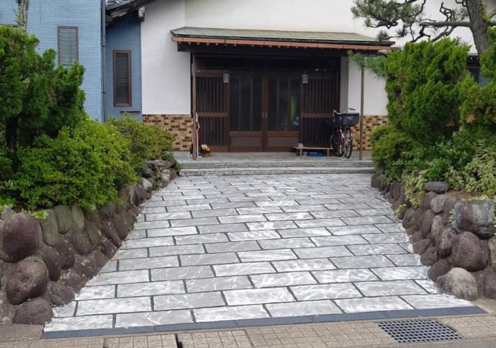 ローラーストーン認定施工店 施工事例写真(大):0003999
