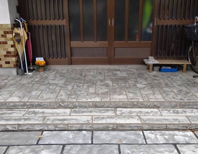 ローラーストーン認定施工店 施工事例写真(大):0004000
