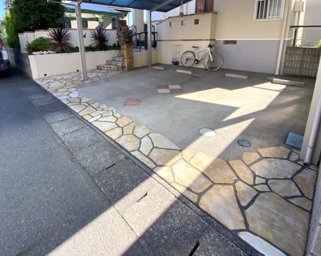 ローラーストーン認定施工店 施工事例写真(大):0003978